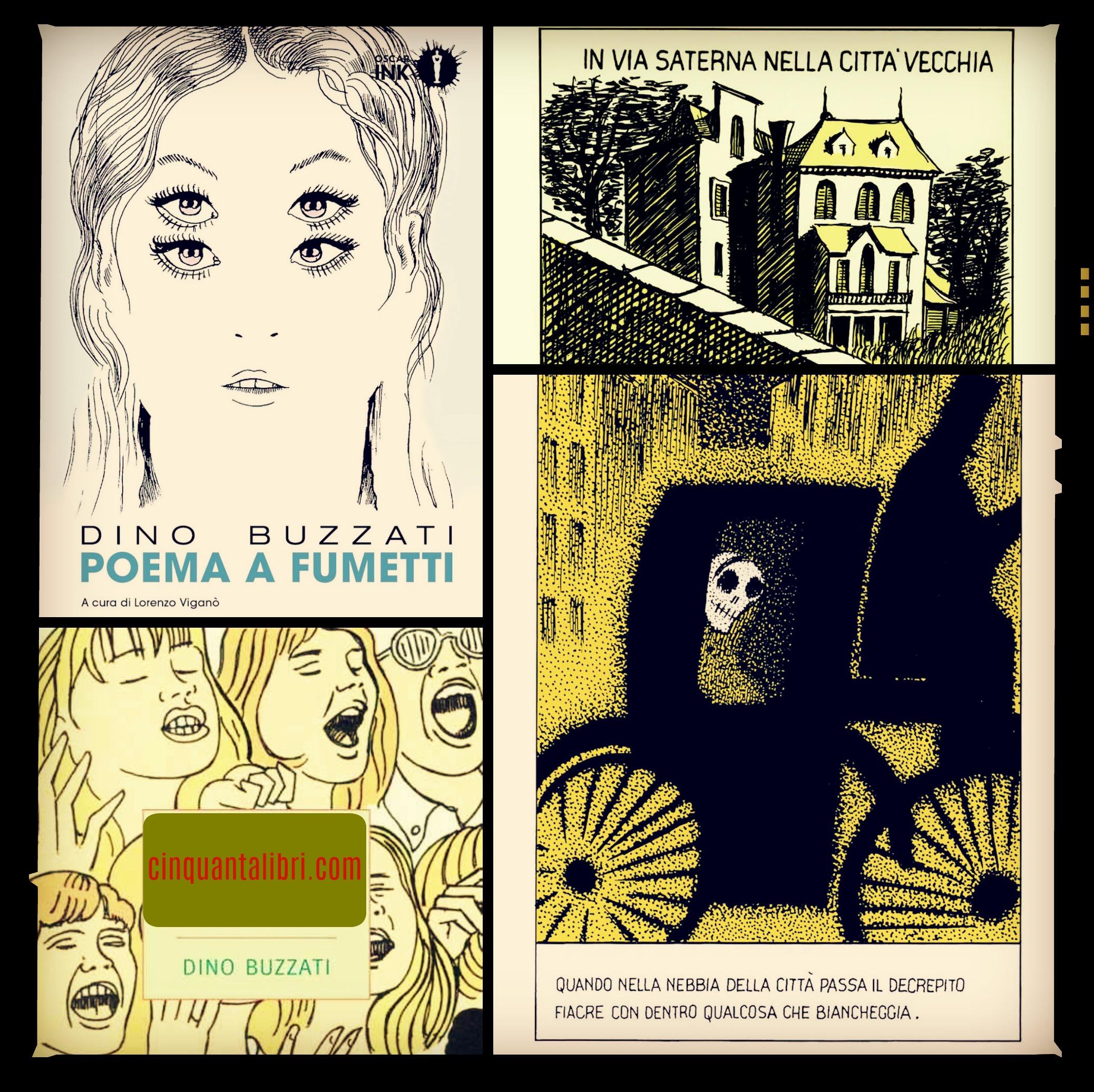 Poema A Fumetti Dino Buzzati Dinobuzzati Barbarafacciott 50 Libri In Un Anno